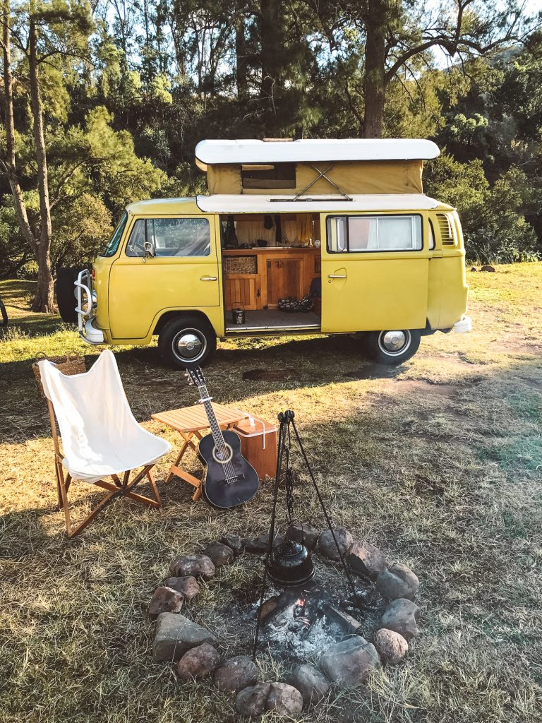 dog friendly camping kombi