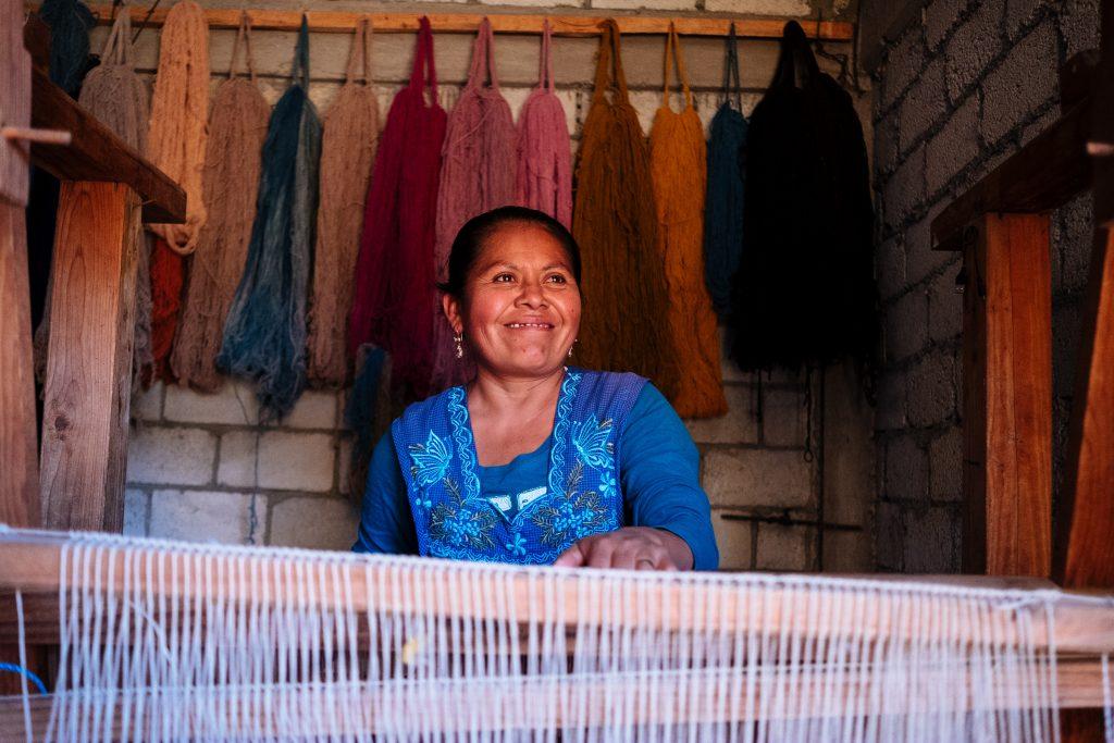 traditional weaving loom