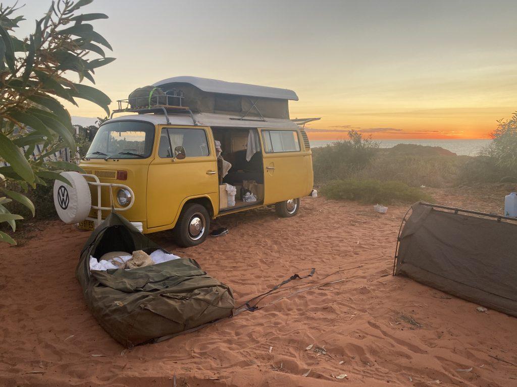Barn Hill Station camping