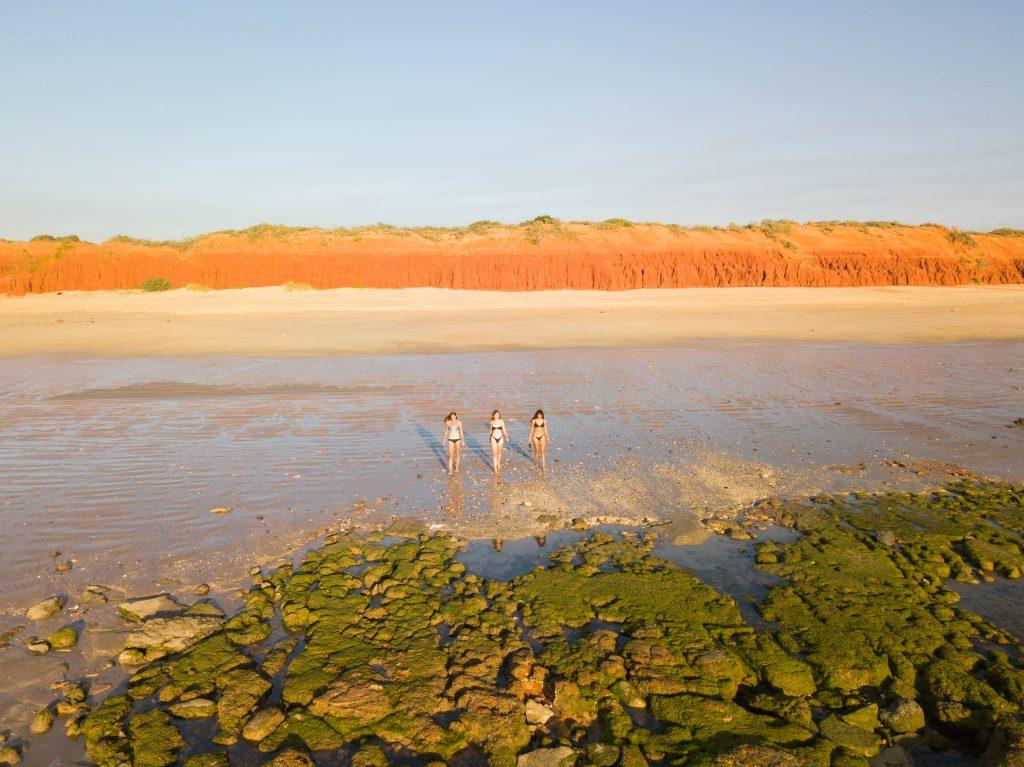 Swimming, the Kimberley australia