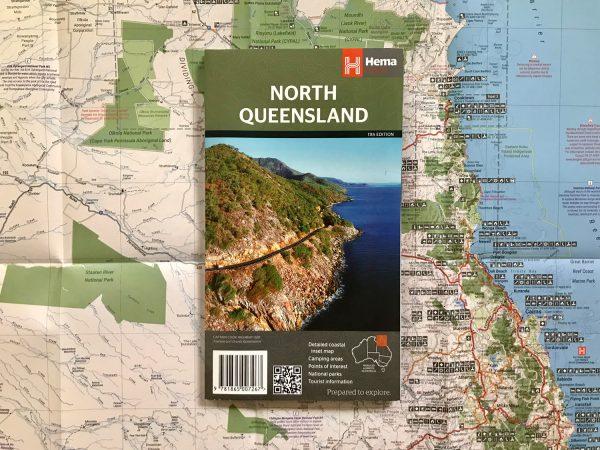 detailed north queensland map hema
